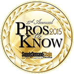 Top 25  - Pros To Know - Supply & Demand Chain Executive Magazine